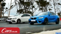 Mercedes A45 AMG vs Honda Civic Type R Drag Race